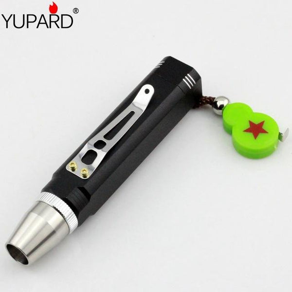 YUPARD Portable R5 LED Flashlight Torch Jewelry jade glare 18650 Rechargeable flashlight Aluminum white yellow purple light