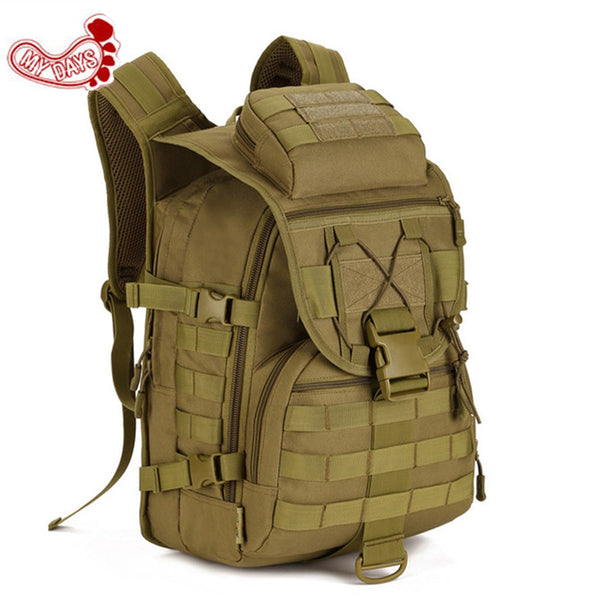 Sale Cheap 40L Waterproof 3D Military Tactics Backpack Rucksack Bag Hike Trek Hunting Travel Backpack Tactical X7 Suckpack