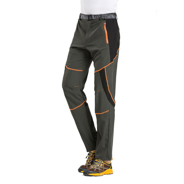 Mountainskin Men's Summer Quick Dry Hiking Thin Pants Outdoor Sports Pants Camping Trekking Climbing Fishing Male Trousers VA006