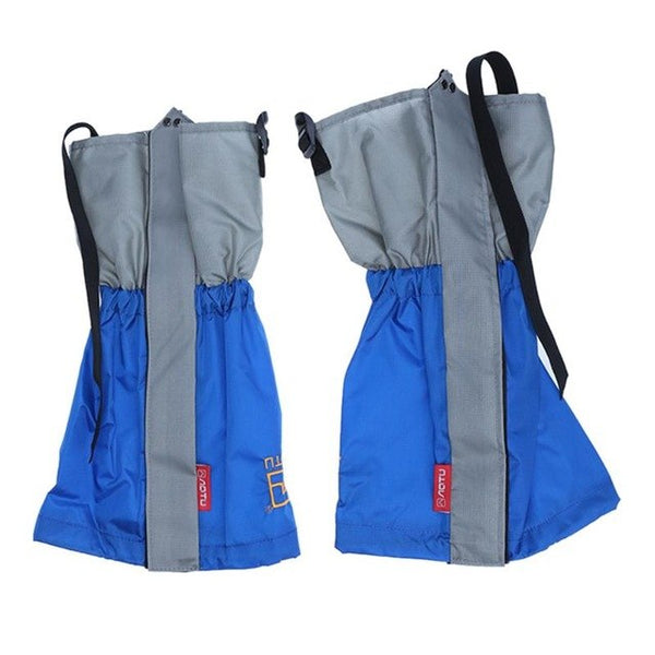 1Pair Unisex Outdoor Waterproof polyester Snow Leg Gaiters for Hunting Hiking Climbing Trekking Legwarmers Safety Accessories