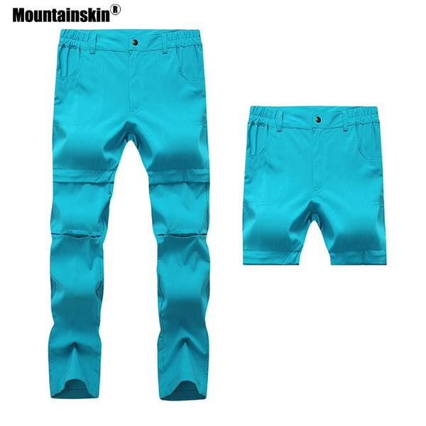 Mountainskin Outdoor Quick Dry Removable Pants Summer Fishing Trekking Camping Hiking Trousers Shorts Sweatpants For Women VB051