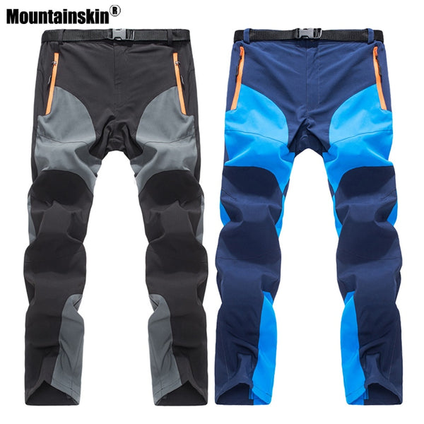 Mountainskin 2018 Men's Summer Quick Dry Pants Outdoor Sports Breathable Hiking Camping Trekking Fishing Climbing Trousers VA158