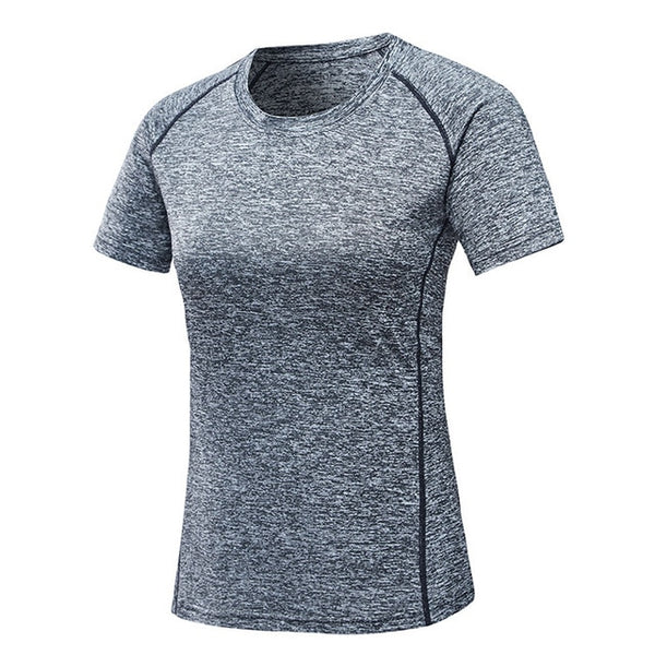 Mountainskin Men Women's Quick Dry Breathable Summer T-shirts Outdoor Yoga Camping Trekking Fishing Running Short Sleeves VA241