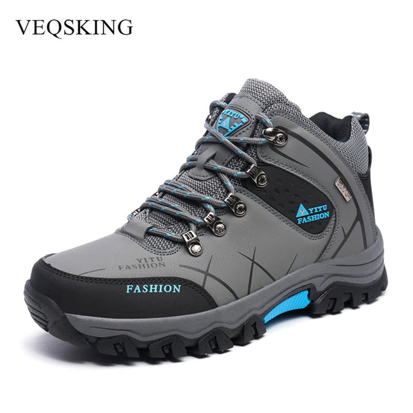 High Cut Hiking Shoes Winter Autumn Boots Climbing Shoes Outdor Trekking Mountain Sneakers 40-47 3Colors