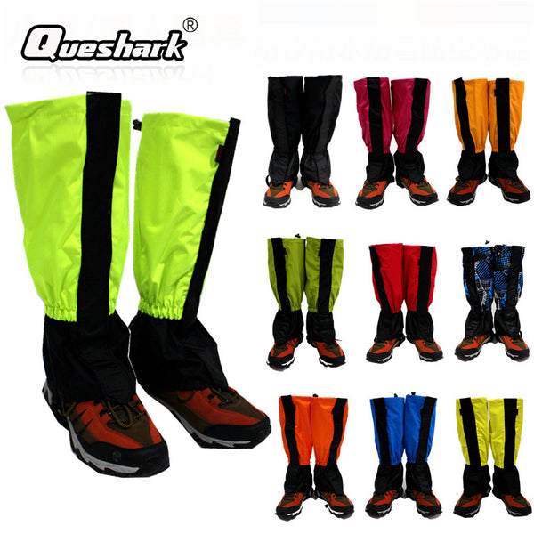 Outdoor Camping Hiking Climbing Waterproof Snow Legging Gaiters Men Women Trekking Skiing Desert Snow Boots Cycling Shoes Covers