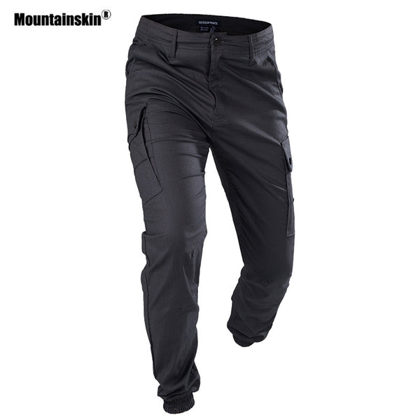 Mountainskin Men's Military Tactical Pants Outdoor Sports Cargo Pants Hiking Trekking Camping Climbing Brand Trousers VA312