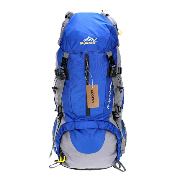 Lixada 50L Waterproof Outdoor Sport Hiking Trekking Camping Travel Backpack Pack Mountaineering Climbing Knapsack with Rain Cover