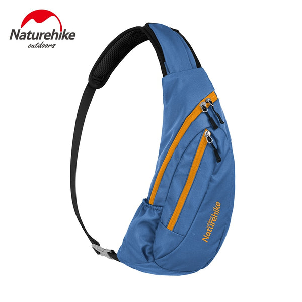Naturehike Sling Bag Men's Chest Shoulder Unbalance Back pack Sack Satchel Single Shoulder Backpack for Camping Hiking Trekking