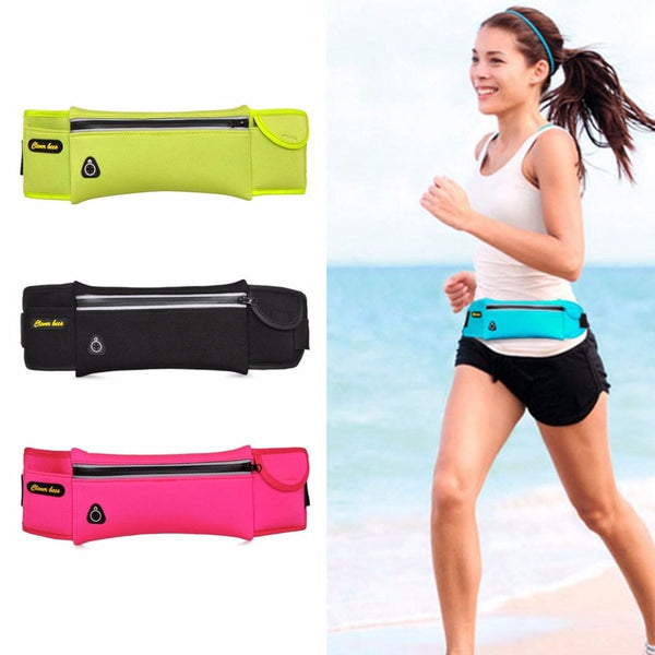 Outdoor Sports Bag Lightweight Mini Cycling Running Trekking Waist Bag Breathable Strap For Hiking Camping Pouch Waist Pack