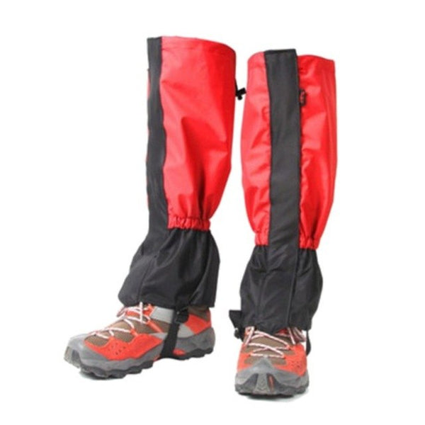 Outdoor Winter Waterproof Cycling Shoe Cover Ski Boots Snow Gaiters Hiking Trekking Climbing Skiing Leg Legging Gaiters