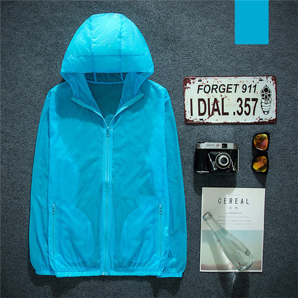 Mountainskin Men's Women's Windbreaker Outdoor Softshell UV Jackets Spring Camping Fishing Trekking Hiking Sportswear Coat VA243