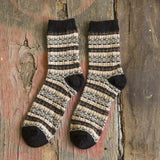 New men's winter thick wool socks Retro Style Warm wool socks 1 pairs-moslily