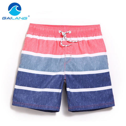 Gailang Brand Men Beach Shorts Bermuda Quick Drying Men's Swimwear Swimsuits Board Shorts Bottoms Casual Jogger Boxer Trunks New-moslily
