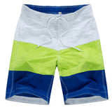 Bumpybeast 2017 Brand Clothing Men's Board Shorts Polyester Drawstring Shorts Summer stripe Slim Short Pants For Man-moslily