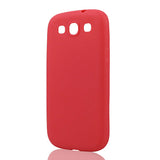 Silicone Phone Cases for Samsung Galaxy S3 i9300 9300 Skin Fashion Cute Candy Colors TPU Soft TPU Back Cover For Samsung S3-moslily