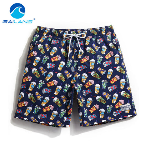 Gailang Brand Sexy Men Boardshorts Beach Short Boxer Trunks Men Bermuda Quickly Drying Plus Big Size Swimwear Swimsuits Gay-moslily