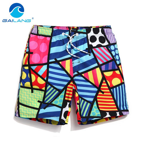 Gailang Brand Swimwear Men Beach Shorts Trunks Quick Dry Boardshorts Men Active Bermudas Man Swimsuits Boxers Plus Big Size XXXL-moslily