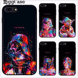 Star Wars Soft TPU Silicone Case Cover black For Apple iPhone X 8 7 6 6S Plus 7Plus 8Plus 5 5S SE Cover Coque black Shell Skin-moslily