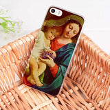 MaiYaCa Virgin Mary Christian Christmas soft tpu phone case cover for iPhone 8 7 6 6S Plus X 10 5 5S SE 5C 4 4S case Coque Shell-moslily