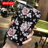 BROEYOUE For Samsung Galaxy A5 2017 A3 2016 S7 Edge S8 Plus J3 J5 J7 2017 J2 Prime Case For iPhone 5 5S X 7 6 6S 7 8 Plus Cases-moslily