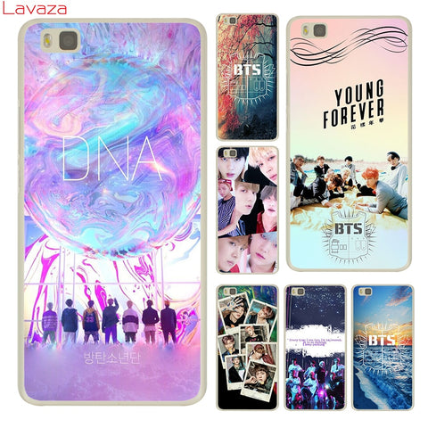Lavaza BTS Hard Phone Case for Huawei P10 P6 P7 P8 P9 Lite Plus 2015 2016 Y3 Y5 Y6 II Y7 2017 G7 Cover-moslily