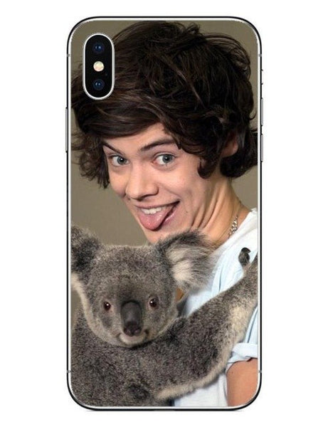 One Direction 1D Hard PC Phone Case for iphone 5 5S 6 6S Plus 7 7 Plus 8 8 Plus harry styles Cover For iphone X 10 Cases-moslily