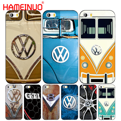 HAMEINUO VOLKSWAGEN VW Mini Bus cell phone Cover case for iphone 6 4 4s 5 5s SE 5c 6 6s 7 8 plus case for iphone 7 X-moslily