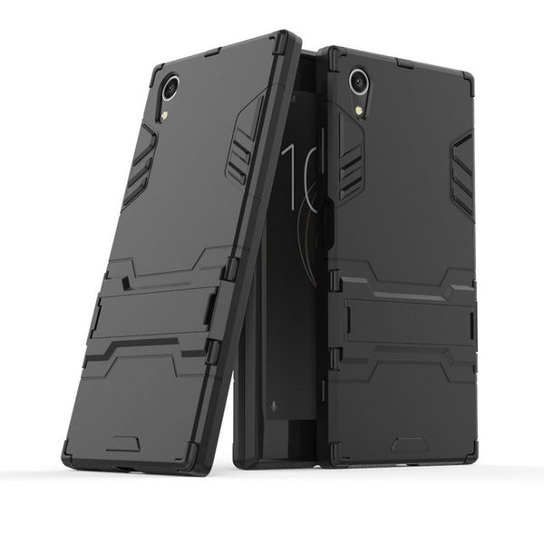 3D Combo Armor Case for Sony Xperia XA1 Plus Dual G3421 G3423 G3412 for Sony Xperia XZ1 Compact G8441 XA1 XZ1 Phone cover Case-moslily