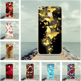 Case For Xiaomi Redmi4X Cover 3D Flower Butterfly Pattern Soft TPU Cover For Xiaomi Redmi 4X Case Silicone Hongmi4X Phone Cases-moslily