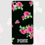 Pink Roses Bouquet Fresh Clear Case Cover for Sony Xperia z1 z2 z3 z4 z5 m4 Aqua m5 X XA XA1 XZ E4 E5 Compact C4 C5-moslily