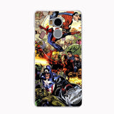 HAMEINUO marvel Legends batman superman Cover phone Case for Xiaomi redmi 4 4A 1 1s 2 3 3s pro redmi note 4 4X 5A-moslily