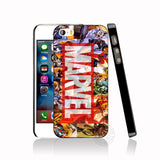 HAMEINUO Luxury marvel cell phone Cover case for iphone 6 4 4s 5 5s SE 5c 6 6s 7 8 plus case for iphone 7 X-moslily