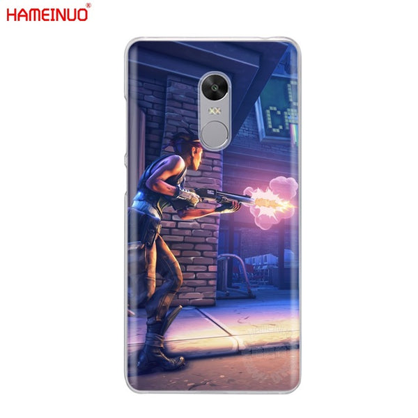 HAMEINUO fortnite Cover phone Case for Xiaomi redmi 5 4 1 1s 2 3 3s pro PLUS redmi note 4 4X 4A 5A-moslily