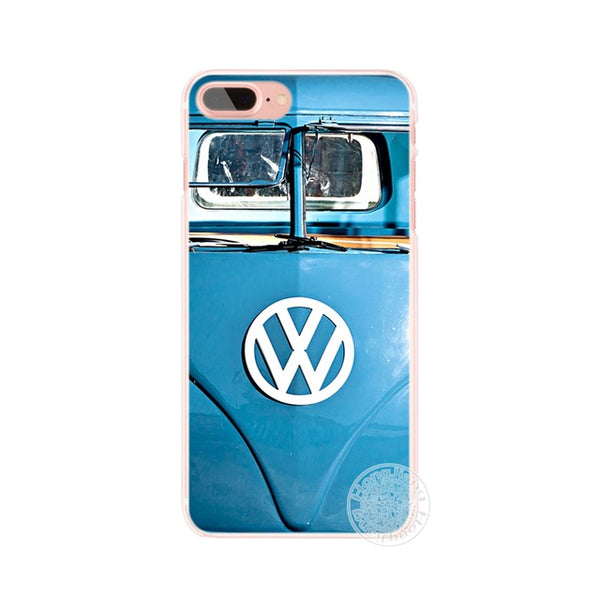 HAMEINUO Retro Volkswagen Vw Beetles cell phone Cover case for iphone 6 4 4s 5 5s SE 5c 6s 7 8 plus X-moslily