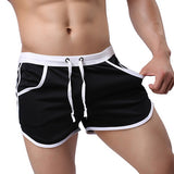 2018 Summer New Fashion Quick Dry Clothing Men's Casual Shorts Household Man Shorts G Pocket Straps Inside Trunks Beach Shorts-moslily