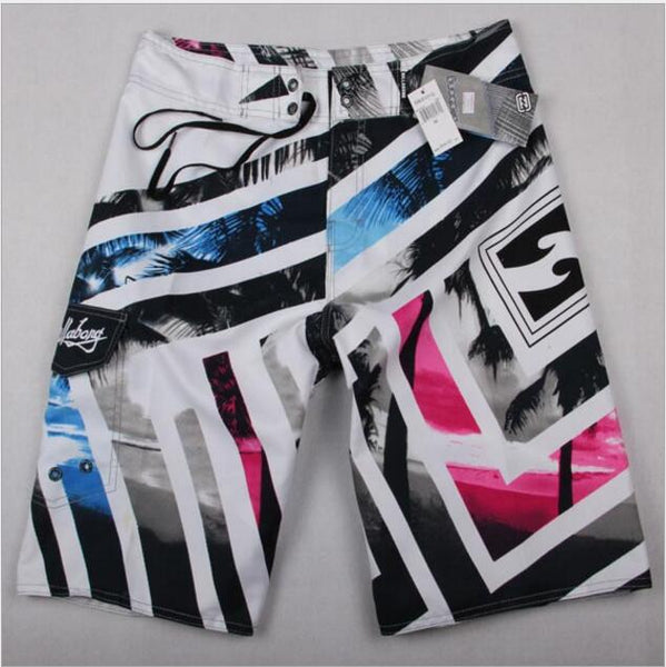 2018 New Hot Mens Shorts Board Shorts Summer Beach Homme Bermuda Pants Quick Dry Boardshorts-moslily