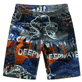 2017 Hot Summer Beach Shorts Men Board Shorts Quick Dry Polo Boardshorts Swimwear Hawaiian Shorts Plus Size 3XL 4XL 5XL 6XL-moslily