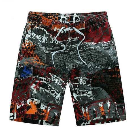 Hot Selling Printing Board Shorts Men Casual Summer Mens Beach Shorts(Size M-5XL)-moslily