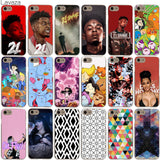 Lavaza 21 Savage Bravest Warriors Cardi B Geometric Graphic Case for iPhone 4 4S 5 5S SE 6 6S 7 8 X Plus-moslily