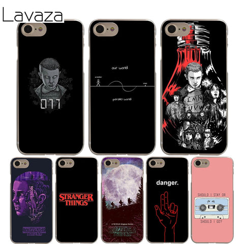 Lavaza stranger things Cover Case for iPhone X 10 8 7 6 6S plus Cases for Apple 5 5S 5C SE 4 4S Coque Shell-moslily