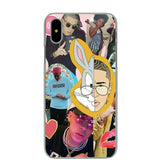 Lavaza Bad Bunny Maluma Ozuna POP Hip Hop Rapper Case for iPhone 4 4S 5 5S SE 6 6S 7 8 X Plus-moslily