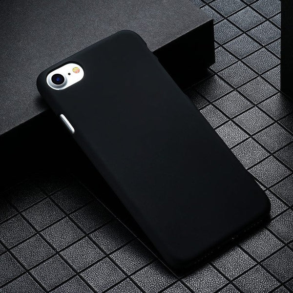TAOYUNXI Plastic Phone Cover Case For Apple iPhone 5 5S SE 5C 6 6s 7 Plus 55S 5SE 4 4s 44S 6C iphone 5s Case Matte Housing-moslily