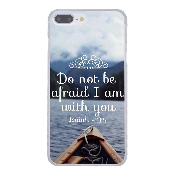 Lavaza Bible verse Philippians Jesus Christ Christian Clear Hard Case for Apple iPhone X 8 7 6 6S Plus 5 5S SE 5C 4 4S 10 Cover-moslily