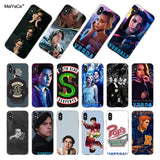 MaiYaCa For iphone 7 X 6 Case American TV Riverdale Series Cole Sprouse Coque Phone Case for iPhone 8 7 6 6S Plus X 5 5S SE 5C-moslily