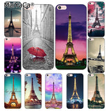 MaiYaCa For iphone 7 6 X SE Case Love Paris Eiffel tower France Coque phone Cases For iphone X 8 7 5S 5 6 6s Plus 4s cover-moslily