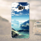 "Phone Case for Samsung Galaxy A3 2016 A310F Case 3D TPU Soft Case Silicone Cover for Samsung A3 2016 A310F A310 4.7"" Coque bags-moslily"