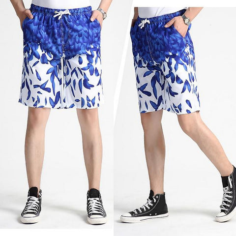 LASPERAL 2018 Men's Quick Dry Shorts 4XL Casual New Summer Beach Shorts Men Women Print Breathable Male Shorts Brand Clothing-moslily