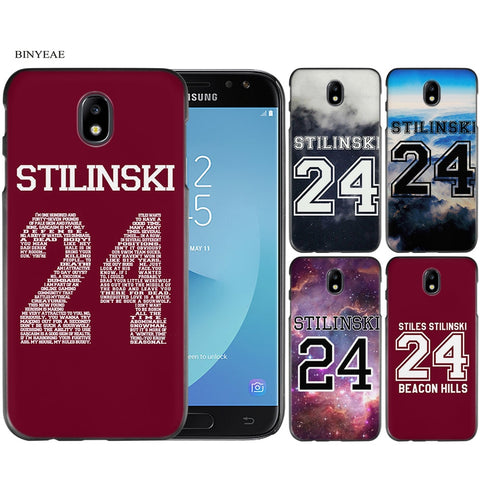 Teen Wolf Stilinski 24 Black Case Cover Shell Protective for Samsung Galaxy J1 J2 J3 J5 J7 2016 2017-moslily