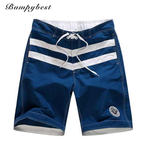 Bumpybeast brand summer striped shorts men polyester mens board shorts Male Beach Board Shorts Swimwear mens shorts xxxL-moslily