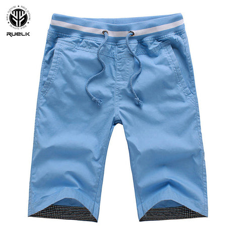 RUELK 2018 Casual New Arrival Shorts Men Summer Holiday Beach Shorts Bermuda Masculina Joggers Solid Color Men Short Size M-5XL-moslily